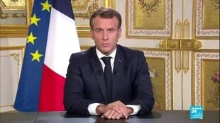 2020-10-05 08:12 Macron welcomes New Caledonia referendum result with 'gratitude'