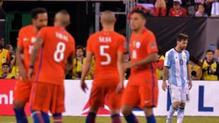 Lors de la séance de tirs au but, Lionel Messi a raté sa tentative et précipité la chute de son équipe.