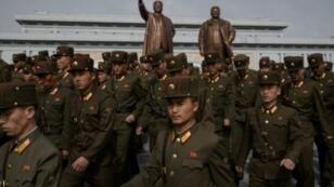 عناصر من الجيش الكوري الشمالي