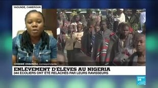 2020-12-18 12:00 Enlèvement d'élèves au Nigeria : un niveau d'insécurité répandu dans tout le pays
