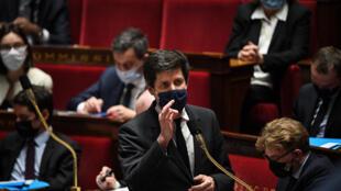 Le ministre de l'Agriculture Julien Denormandie à l'Assemblée nationale, le 16 février 2021