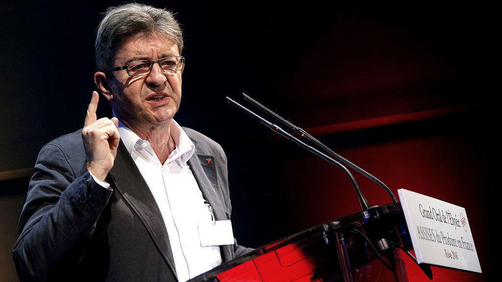 Jean-Luc Mélenchon, n'a pas récolté le vote des cadres du Parti communiste français en faveur de sa candidature pour l'élection présidentielle.