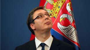 - رئيس الوزراء الصربي الكسندر فوسيتش