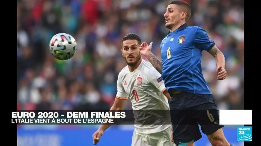 2021-07-07 00:15 Euro-2021 : l'Italie vient à bout de l'Espagne