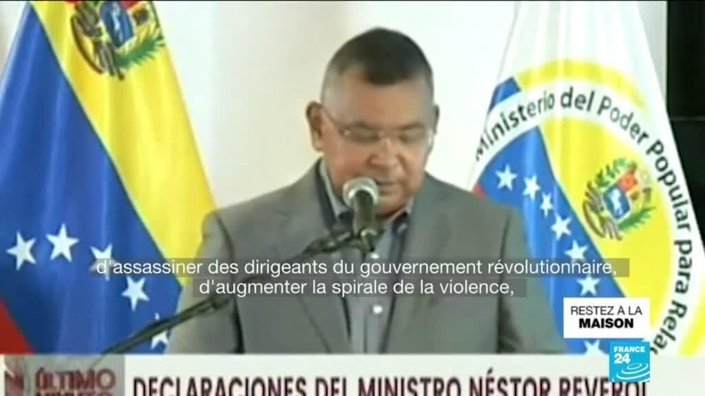 """2020-05-04 10:12 Venezuela : Caracas aurait déjoué une """"invasion"""" venant de la Colombie"""