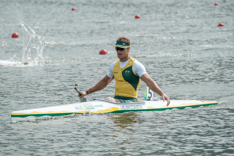 Curtis McGrath lors des Jeux paralympiques de Rio, le 15 septembre 2016.