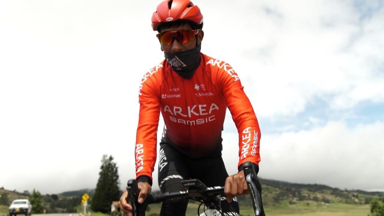 Nairo Quintana cambió este 2020 al equipo francés Arkéa-Samsic y consiguió buenos resultados al comienzo de la temporada