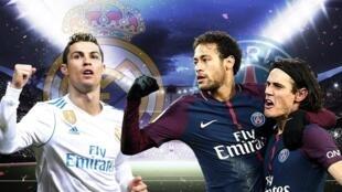 """إم سي إن"" باريس سان جرمان تتحدى ""بي بي سي"" ريال مدريد"