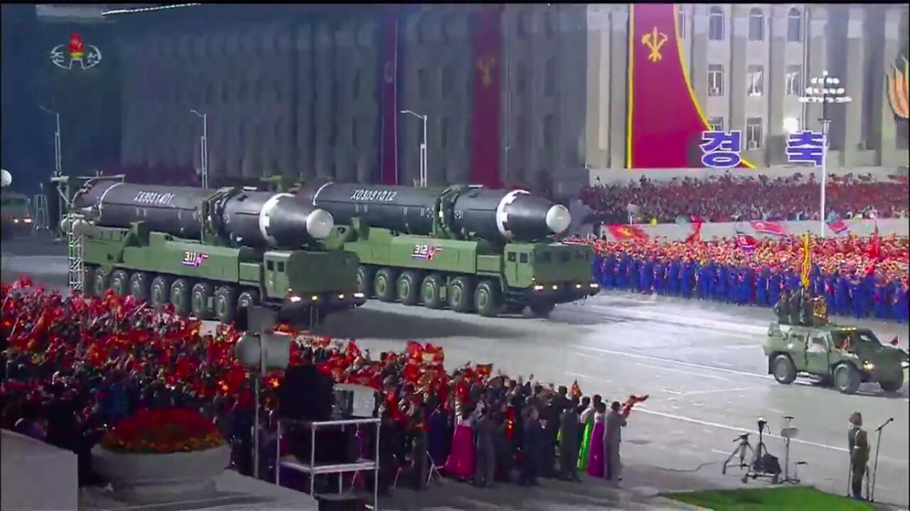 Missiles-Corée
