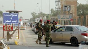 """D'après la chaîne de télévision saoudienne Al Arabiya citant ses propres sources, trois Américains ont été enlevés à Bagdad par des """"miliciens""""."""