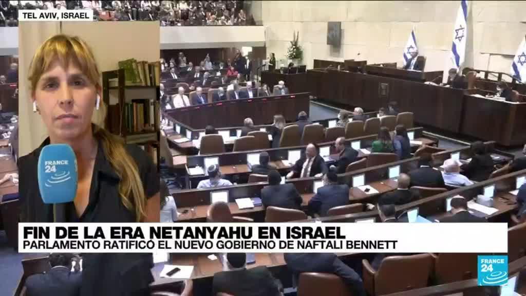 2021-06-14 01:01 Informe desde Tel Aviv: ultraderechista Naftali Bennet elegido como primer ministro israelí