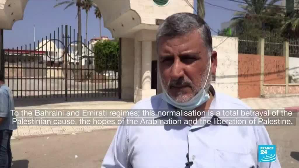 2020-09-16 09:06 Israel strikes Gaza after rocket fire during US ceremony