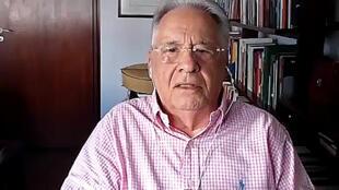فرناندو انريكي كاردوسو خلال مقابلة مع فرانس برس في 29 نيسان/ابريل 2020
