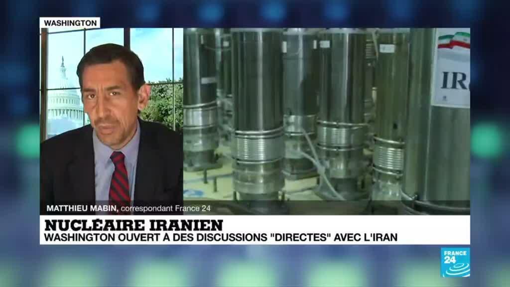 """2021-04-02 18:01 Nucléaire iranien : Washington ouvert à des discussions """"directes"""" avec l'Iran"""