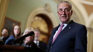 Le chef de la minorité démocrate du Sénat américain, Chuck Schumer, à Washington le 11 juin 2019.