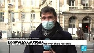 2020-10-15 13:01 Homes of French health minister, other officials, raided in Covid-19 probe