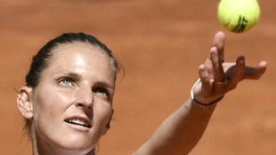 Czech Karolina Pliskova into her third straight Rome final.