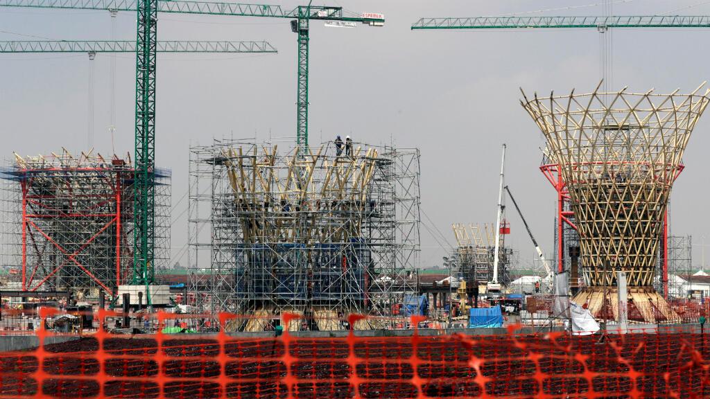 Los mexicanos decidirán sobre si continúa la construcción del nuevo aeropuerto para Ciudad de México la cual muestra 20% de avance.