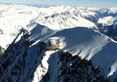 At 3835 metres high the Refuge de Goûter will not be on the route of everyday walkers