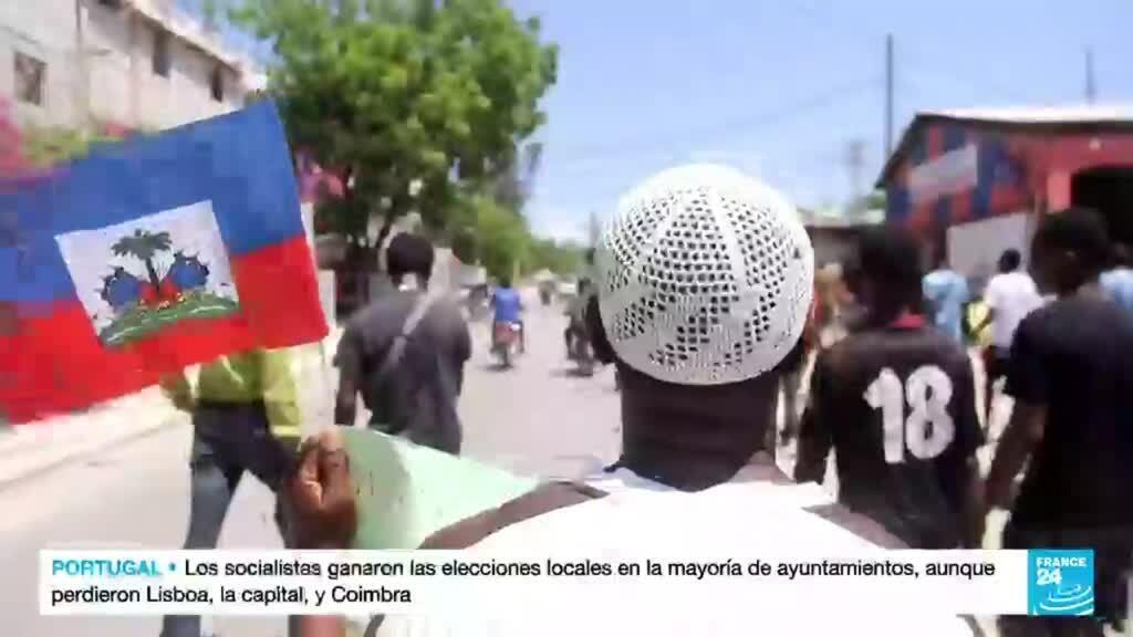 2021-09-27 14:42 Migrantes haitianos deportados desde EE. UU. encontraron un país devastado por las crisis