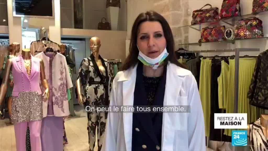 2020-04-09 14:12 Pandémie de Covid-19 : Les initiatives de l'industrie de la mode