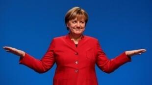 """المستشارة الألمانية أنغيلا ميركل تطلق الاثنين حملتها للانتخابات التشريعية في الخريف، وشعارها """"ألمانيا بلد يطيب العيش فيه"""""""