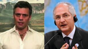 Leopoldo Lopez et Antonio Ledezma ont été arrêtés mardi 1er août.