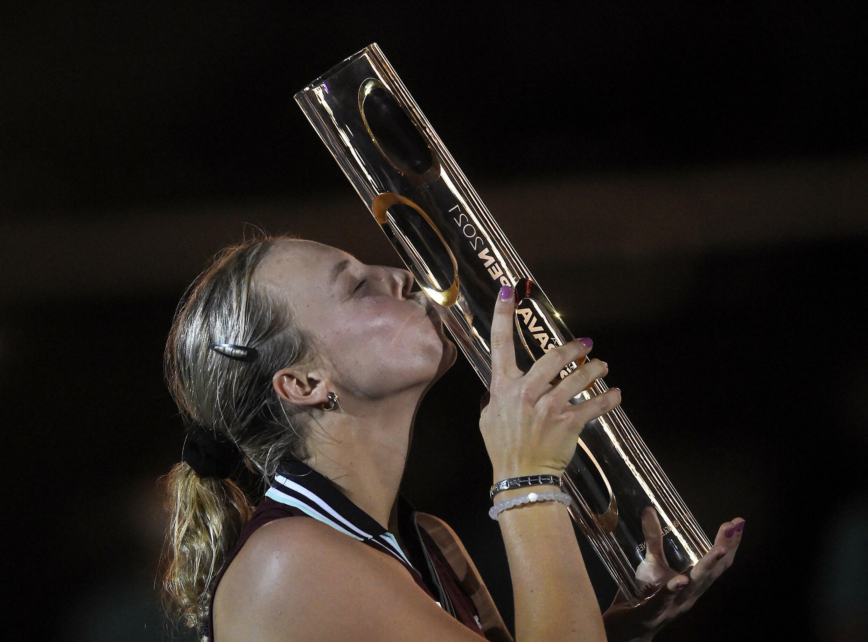 Segundo título del año para la estonia Anett Kontaveit que vence en la final a la griega Maria Sakkari.