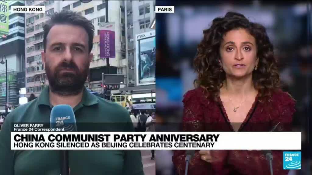 2021-07-01 12:03 China Communist Party anniversary: Hong Kong silenced as Beijing celebrates centenary