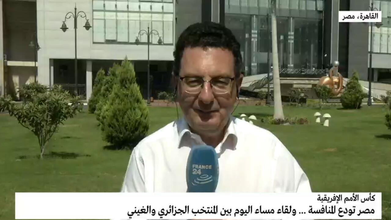 موفد فرانس24 إلى القاهرة وديع فيعاني