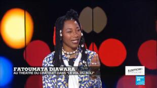 L'artiste malienne Fatoumata Diawara
