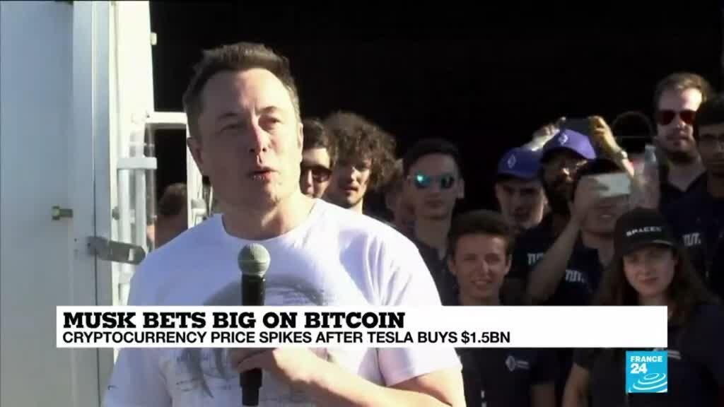 2021-02-09 16:10 Bitcoin powers to new high as Tesla takes it mainstream