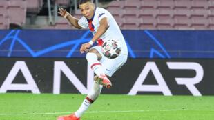 Ligue champions psg mbappé