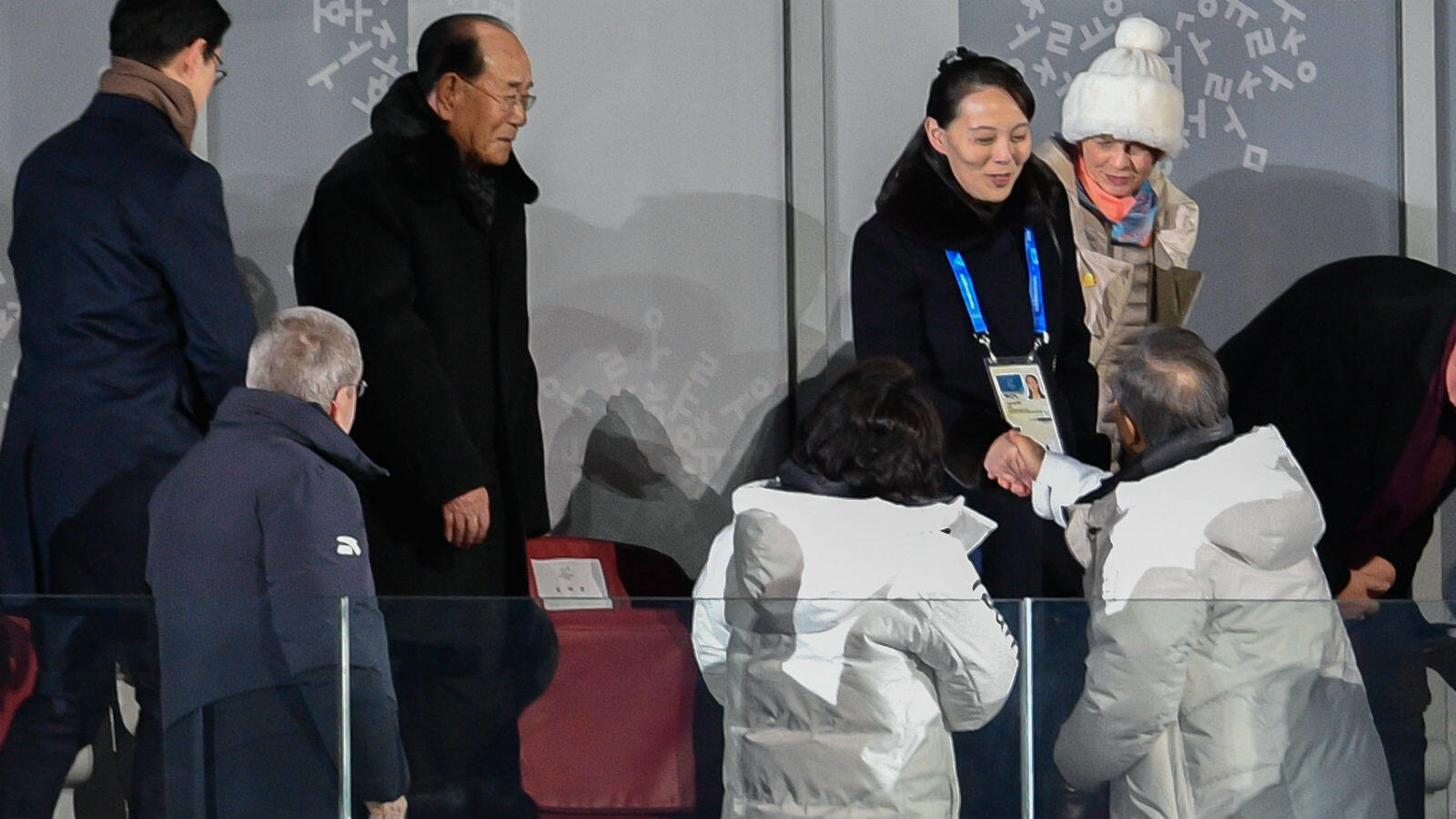The image of a handshake between South Korean President Moon Jae-in and Kim Yo Jong, sister of North Korean leader Kim Jong Un, is sure to remain a highlight of the Olympics.