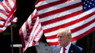 Donald Trump a menacé d'imposer davantage de taxes douanières sur les exportations chinoises.