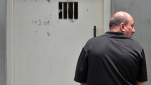 Le Français Serge Atlaoui dans la prison située sur l'île de Nusakambangan, au sud de Java, en 2010.