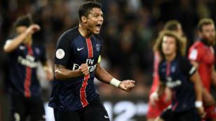 Le défenseur parisien Thiago Silva a inscrit le deuxième but.