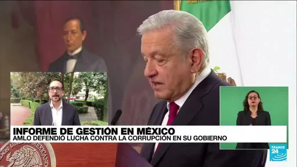 2021-09-02 01:06 Informe desde Ciudad de México: AMLO defendió la lucha contra la corrupción en su Gobierno