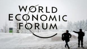 شعار منتدى دافوس العالمي