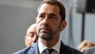Le ministre de l'Intérieur Christophe Castaner, lors de sa conférence de presse à Toulon, le 3 mai 2019.