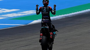 Fabio Quartararo stayed cool in the heat to win the Andalucia MotoGP