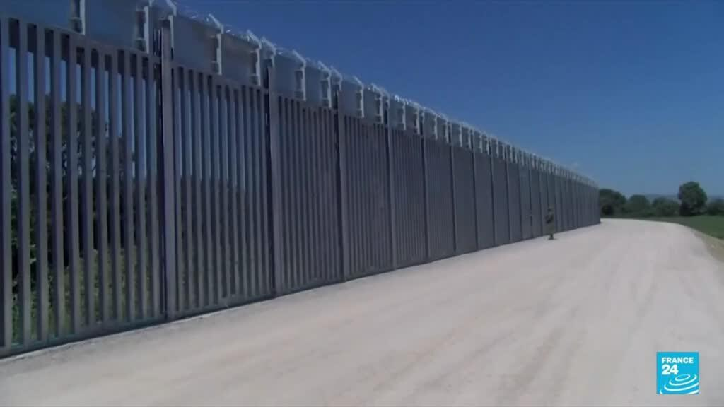 2021-09-02 08:04 Greece completes defensive wall on border with Turkey to stop asylum seekers