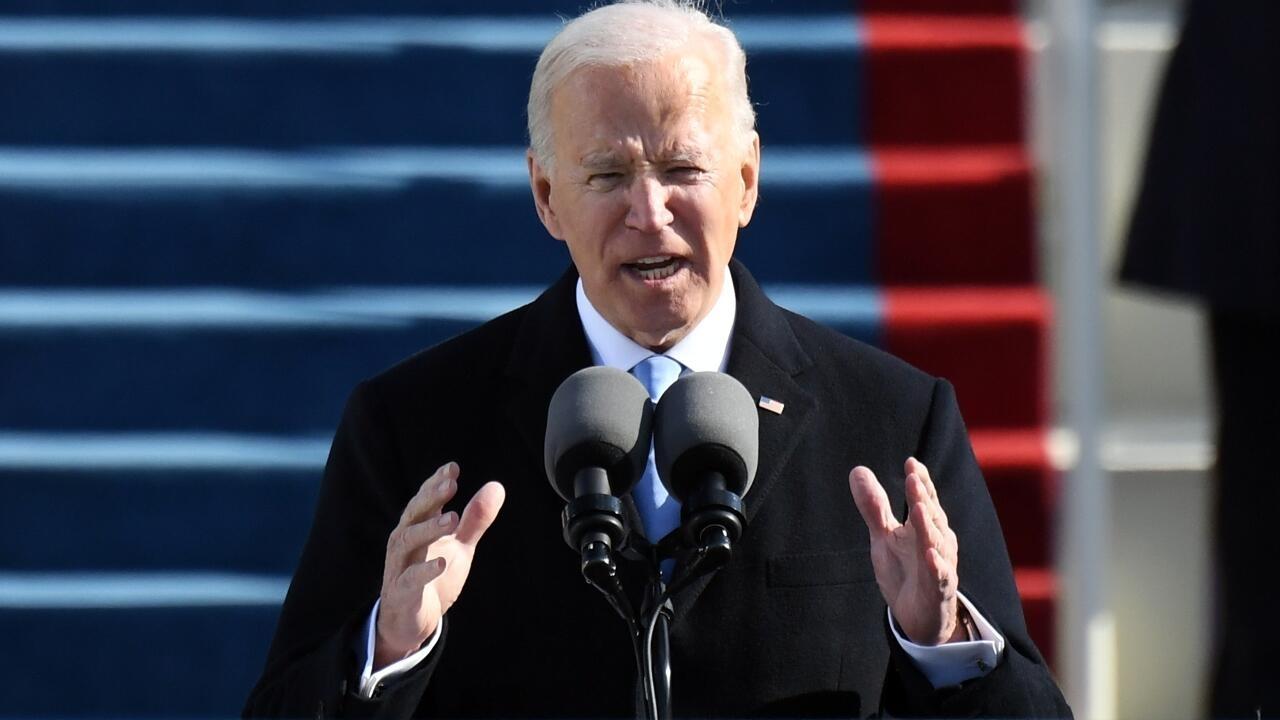 In inauguration speech, Biden vows to end the 'uncivil war'