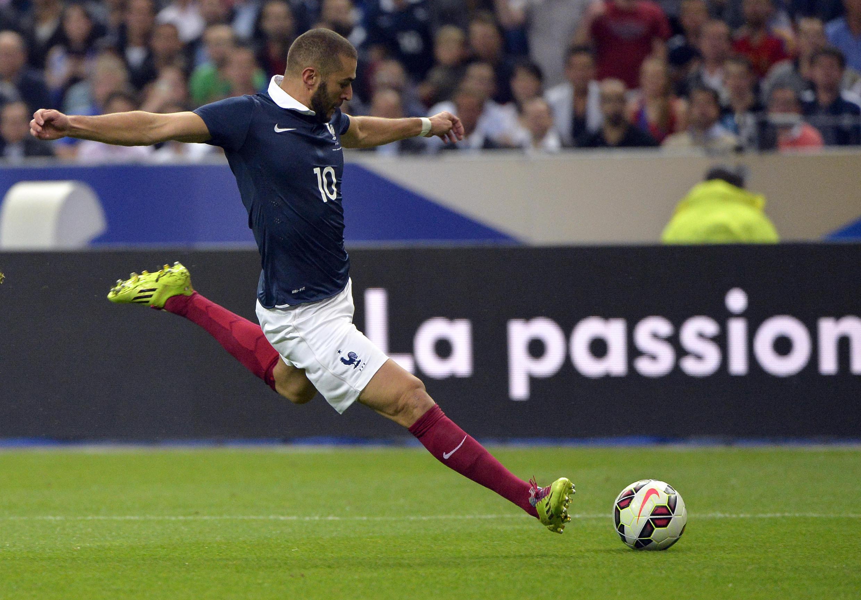 France's Karim Benzema has spent six years in the international wilderness
