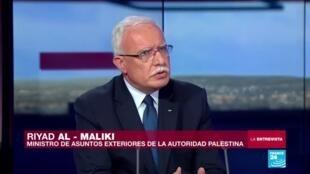 """2019-11-13 03:17 Riyad al-Maliki: """"Estados Unidos frena cualquier iniciativa de paz internacional sobre Palestina"""""""
