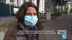 2020-10-16 14:05 Coronavirus in France: Not on maximum alert level, city of Rouen goes under curfew anyway