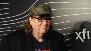 """Michael Moore a réalisé le film """"Michael Moore in TrumpLand"""" à l'approche de la présidentielle américaine."""