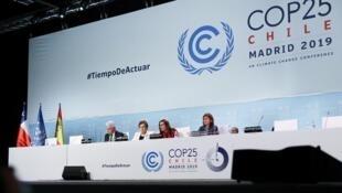 الجلسة الختامية لقمة المناخ 25