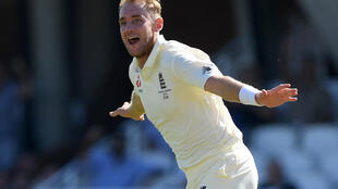 Back training - England paceman Stuart Broad