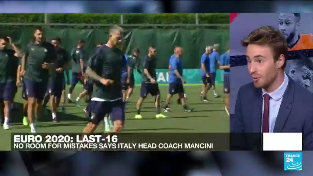 2021-06-26 20:20 Euro 2021: Italy face Austria